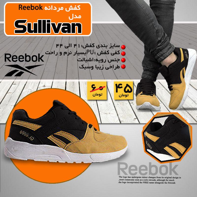 کفش مردانه reebok مدل Salivan