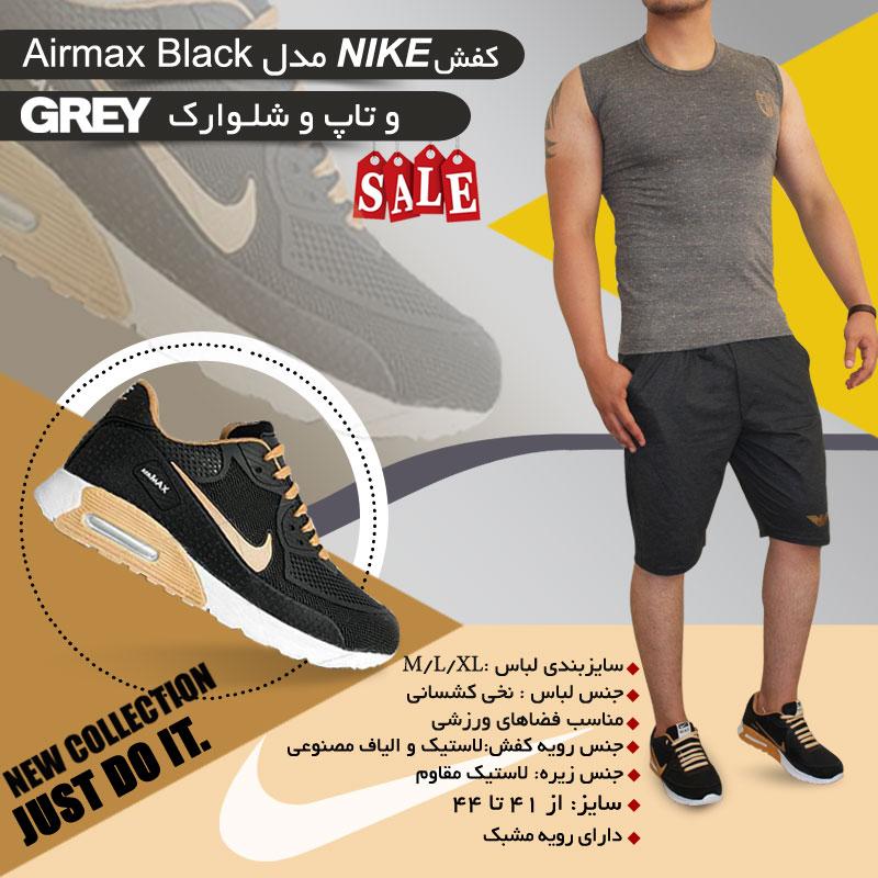 کفش NIKE مدل Airmax Black