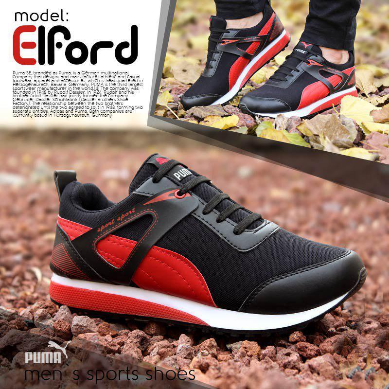کفش مردانه Puma مدل Elford(قرمز)