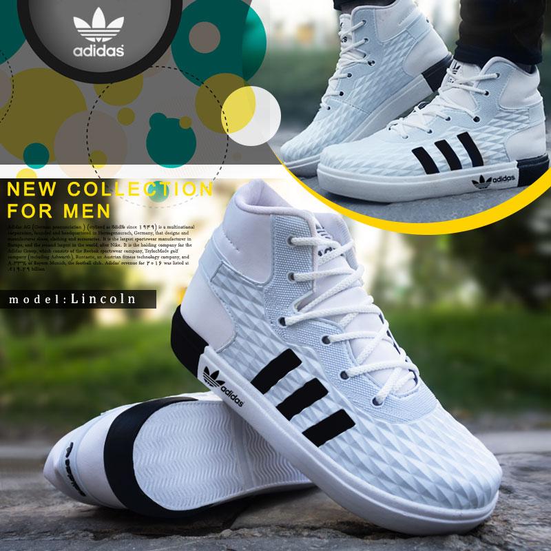 کفش مردانه adidas مدل  سفید Lincoln