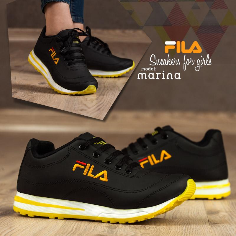 کفش دخترانه Fila مدل Marina