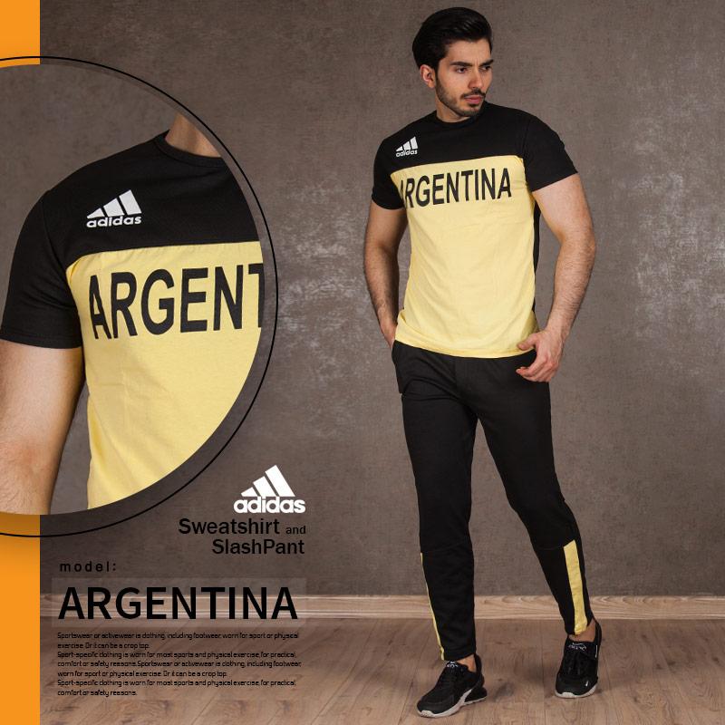 ست تیشرت و شلوار مدل ARGENTINA