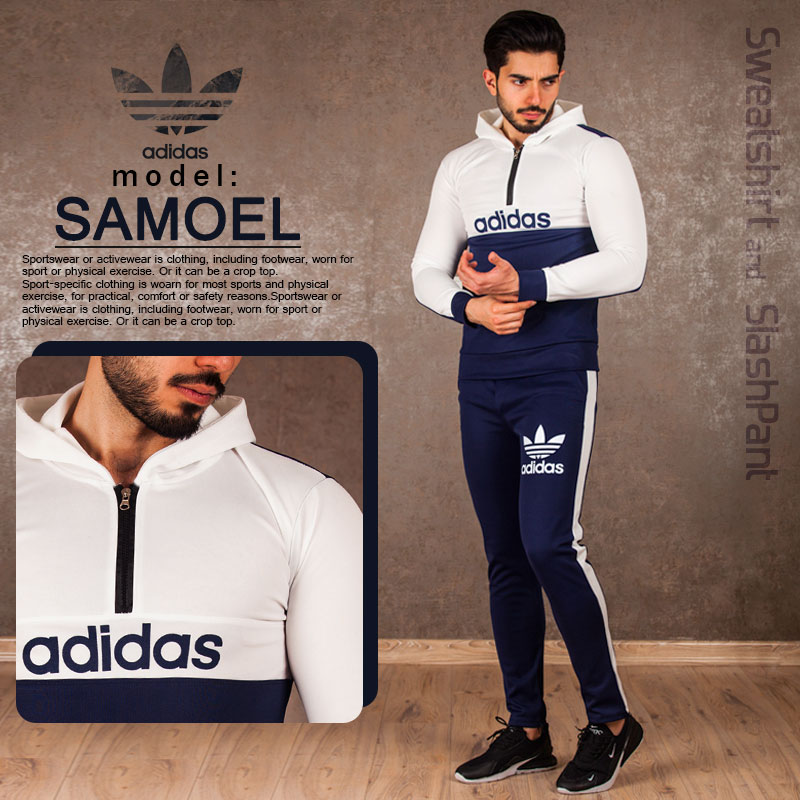 ست سویشرت و شلوار adidas مدل Samoel