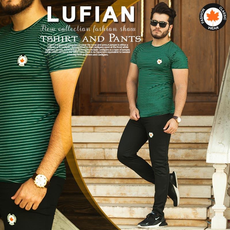 ست تیشرت و شلوار مدل Lufian