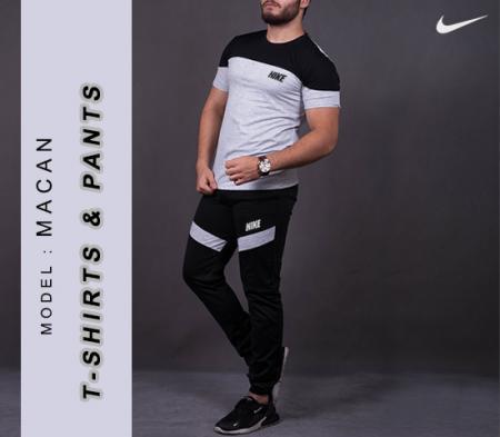 ست تیشرت و شلوار Nike مدل Macan