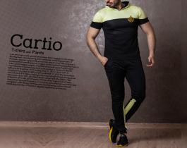 ست تیشرت و شلوار مدل Cartio