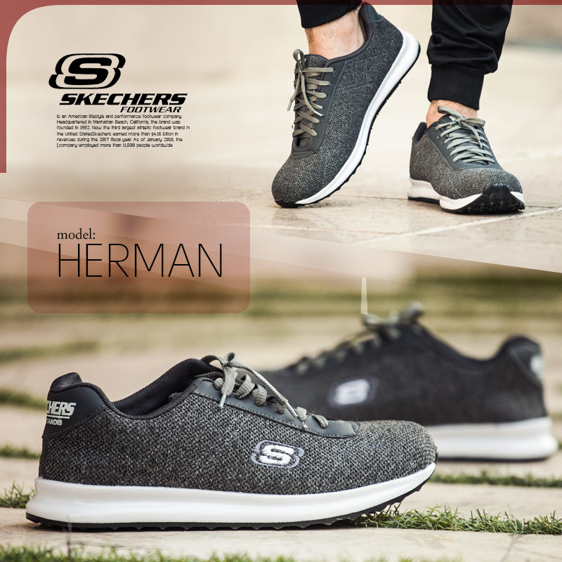 کفش مردانه Skechers مدل Herman