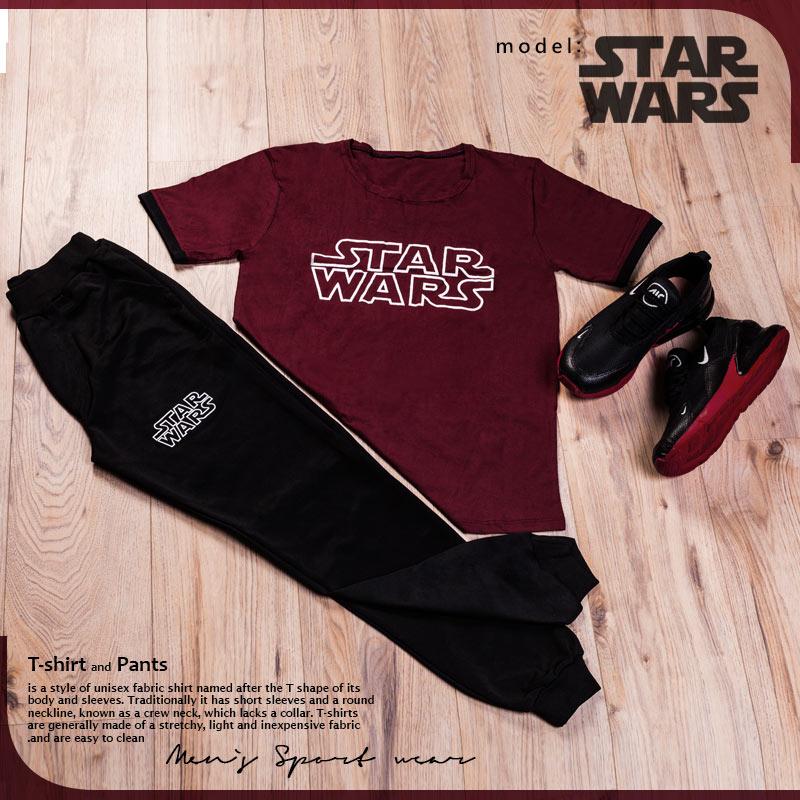 ست تیشرت و شلوار مدل Star Wars