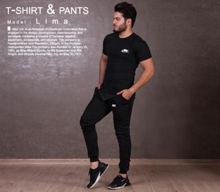 ست تیشرت وشلوار مردانه Nike  مدل Lima