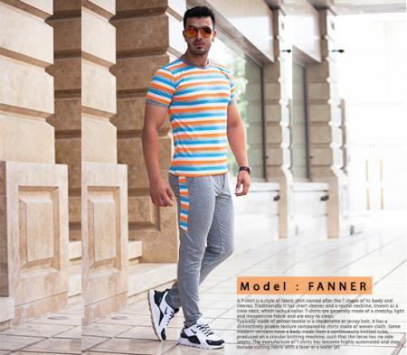 ست تیشرت وشلوار مردانه مدل Fanner