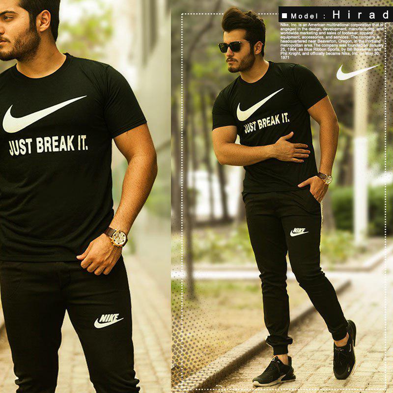 ست تیشرت و شلوار Nike مدل Hirad