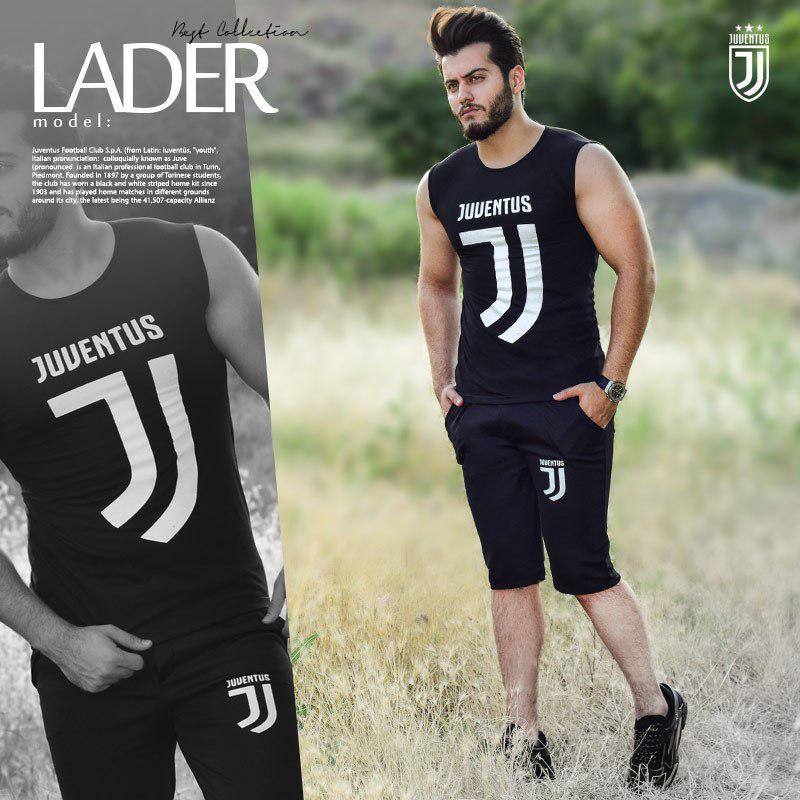 ست تاپ و شلوارک Juventus مدل Lader