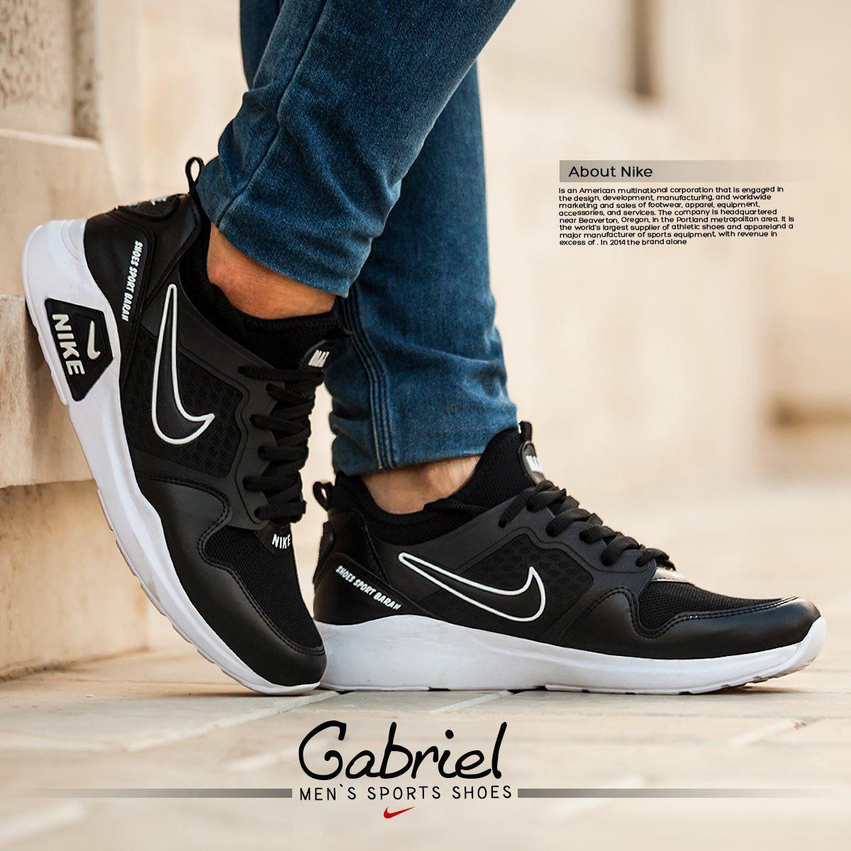 کفش مردانه nike مدل  Gabriel (سفید)