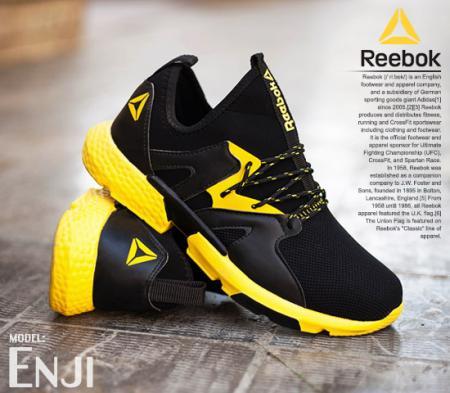 کفش مردانه Reebok مدل Enji (زرد)