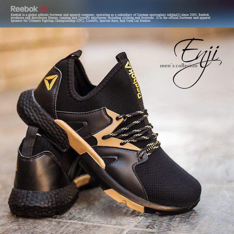 کفش مردانه Reebok مدل Enji(طلایی)