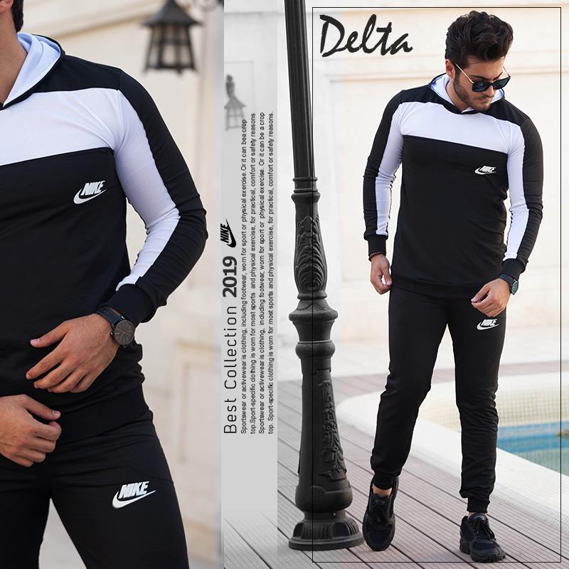 ست سویشرت و شلوار Nike مدل Delta