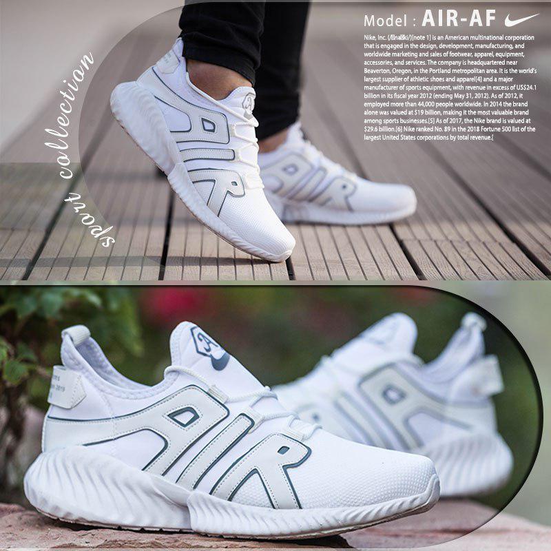 کفش مردانه Nike مدل  Air-AF ( سفید)