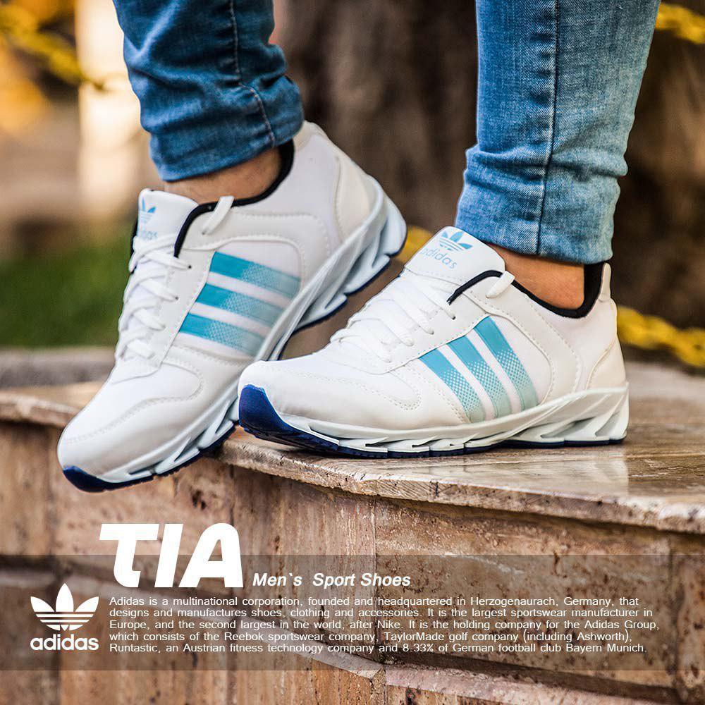 کفش مردانه Adidas مدل Tia(آبی)