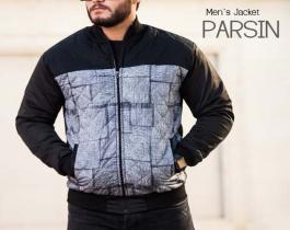 کاپشن مردانه مدل Parsin(طوسی)