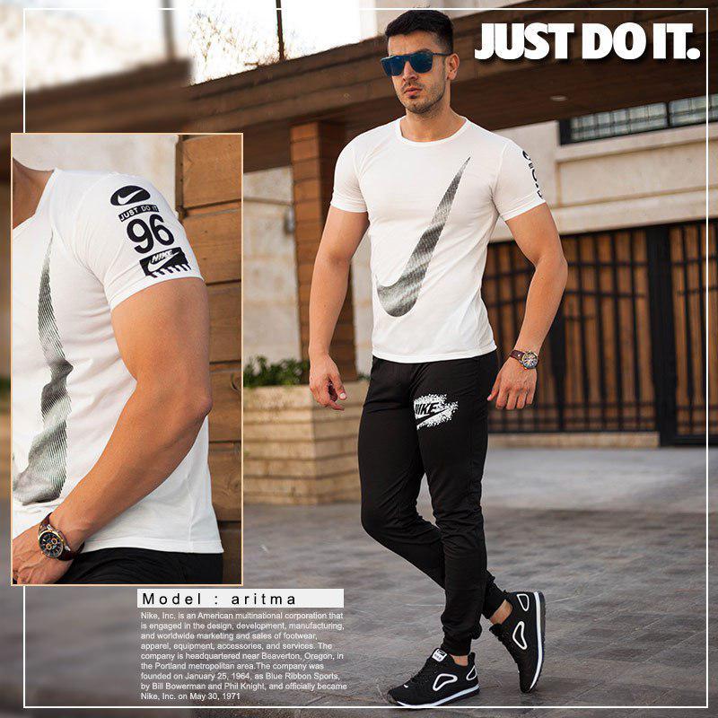 ست تیشرت وشلوار مردانه Nike مدل Aritma