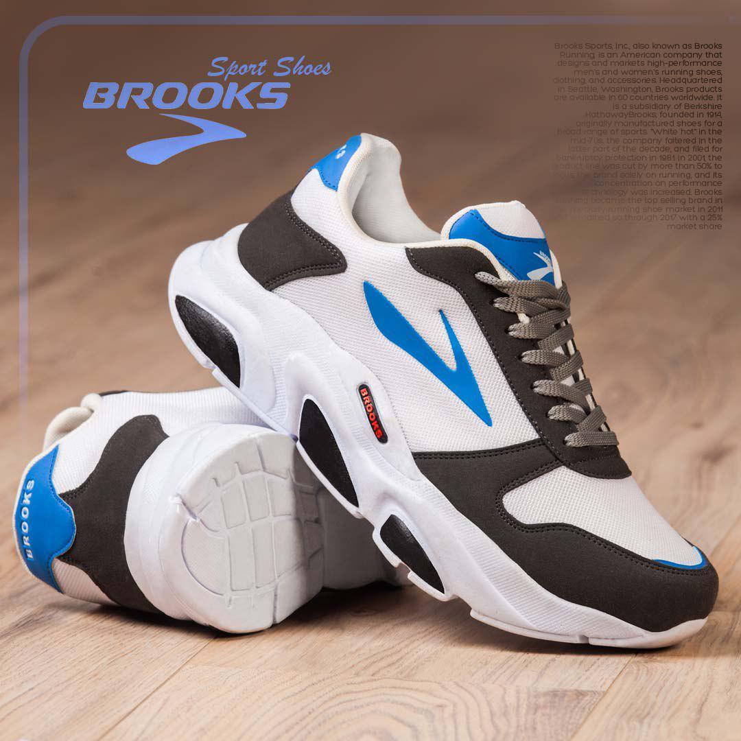 کفش مردانه مدل  BROOKS PLUSE(سفید)
