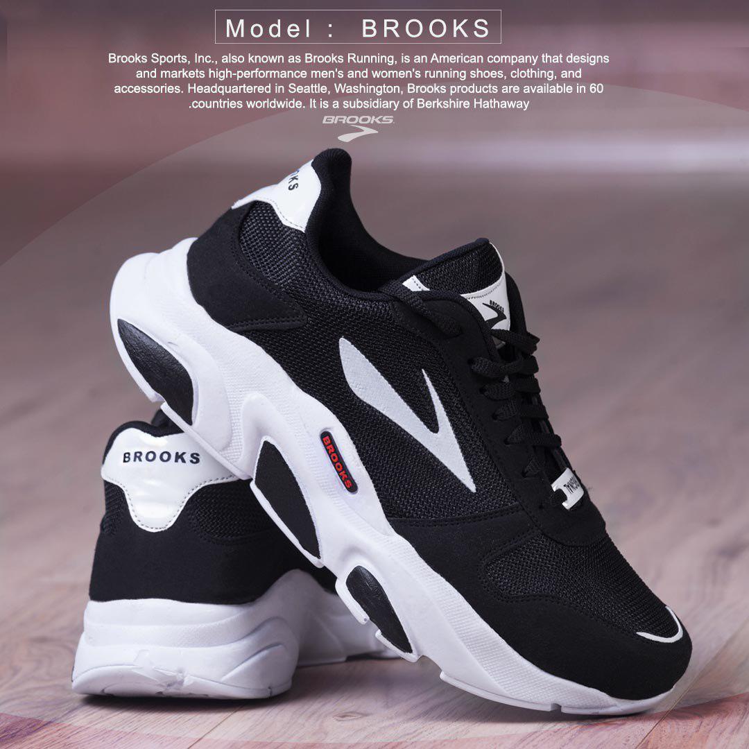 کفش مردانه مدل  BROOKS PLUSE(مشکی)