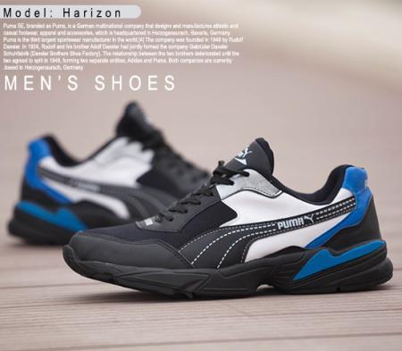 کفش Puma مدل harizon (مشکی)