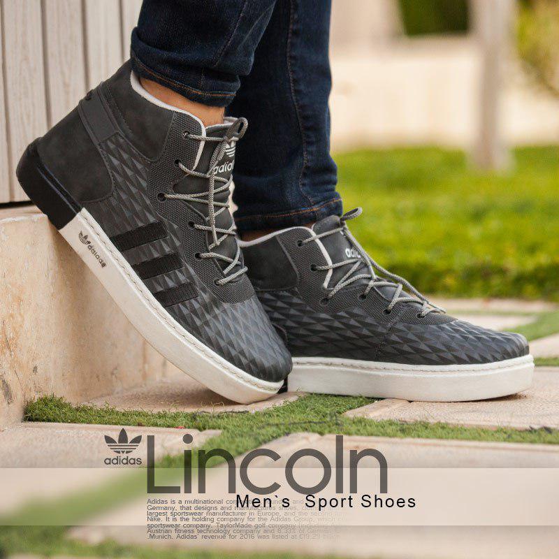 کفش مردانه adidas مدل Lincoln ( طوسی )