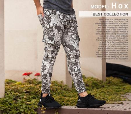 شلوار اسلش مردانه مدل hox
