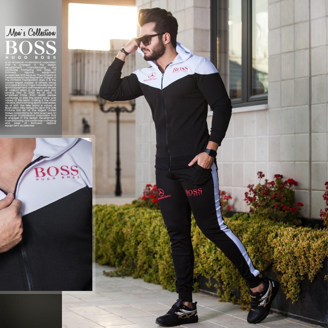 ست سویشرت و شلوار مردانه مدل Hugo boss