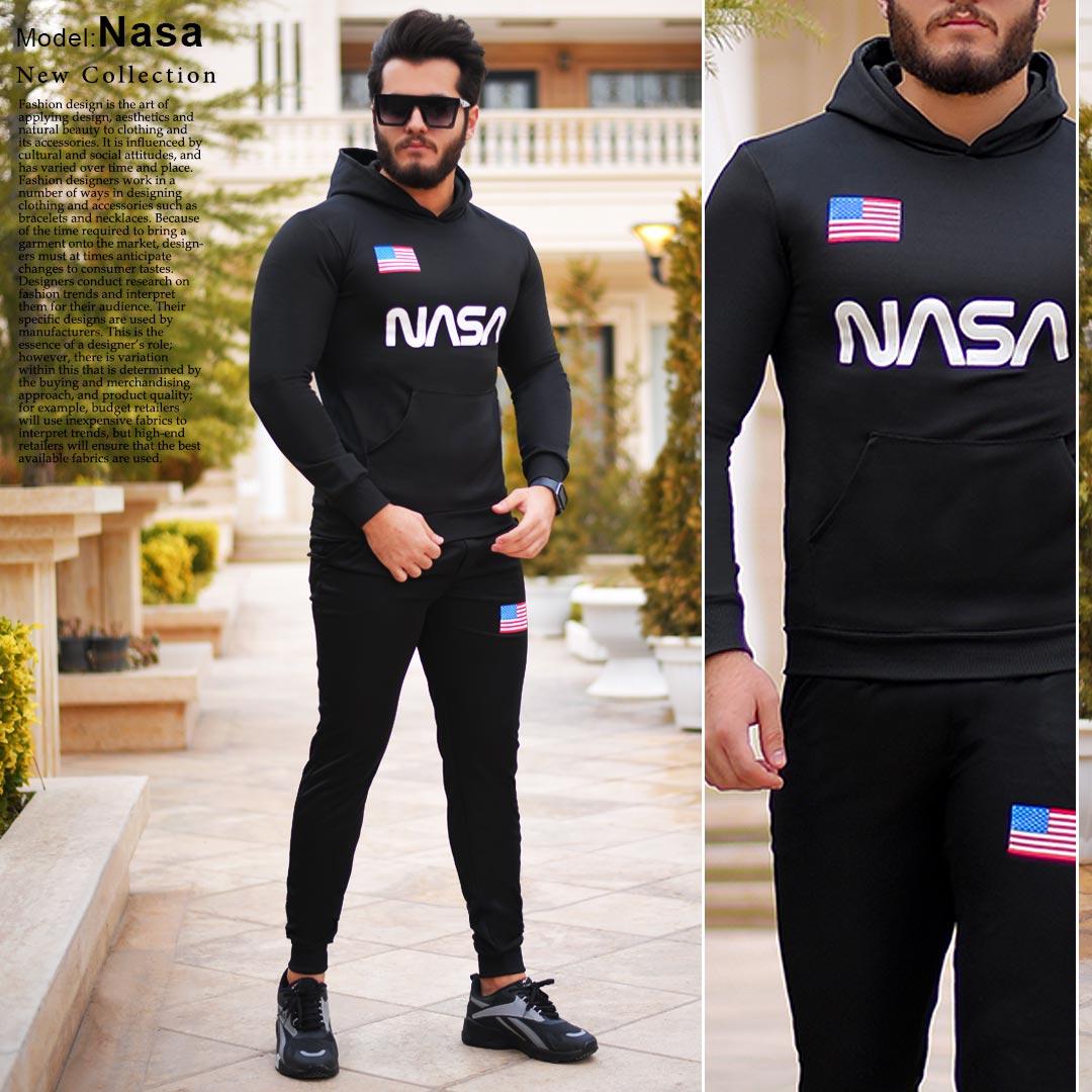 ست سويشرت شلوار مردانه مدل Nasa