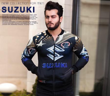سویشرت مردانه مدل Suzuki
