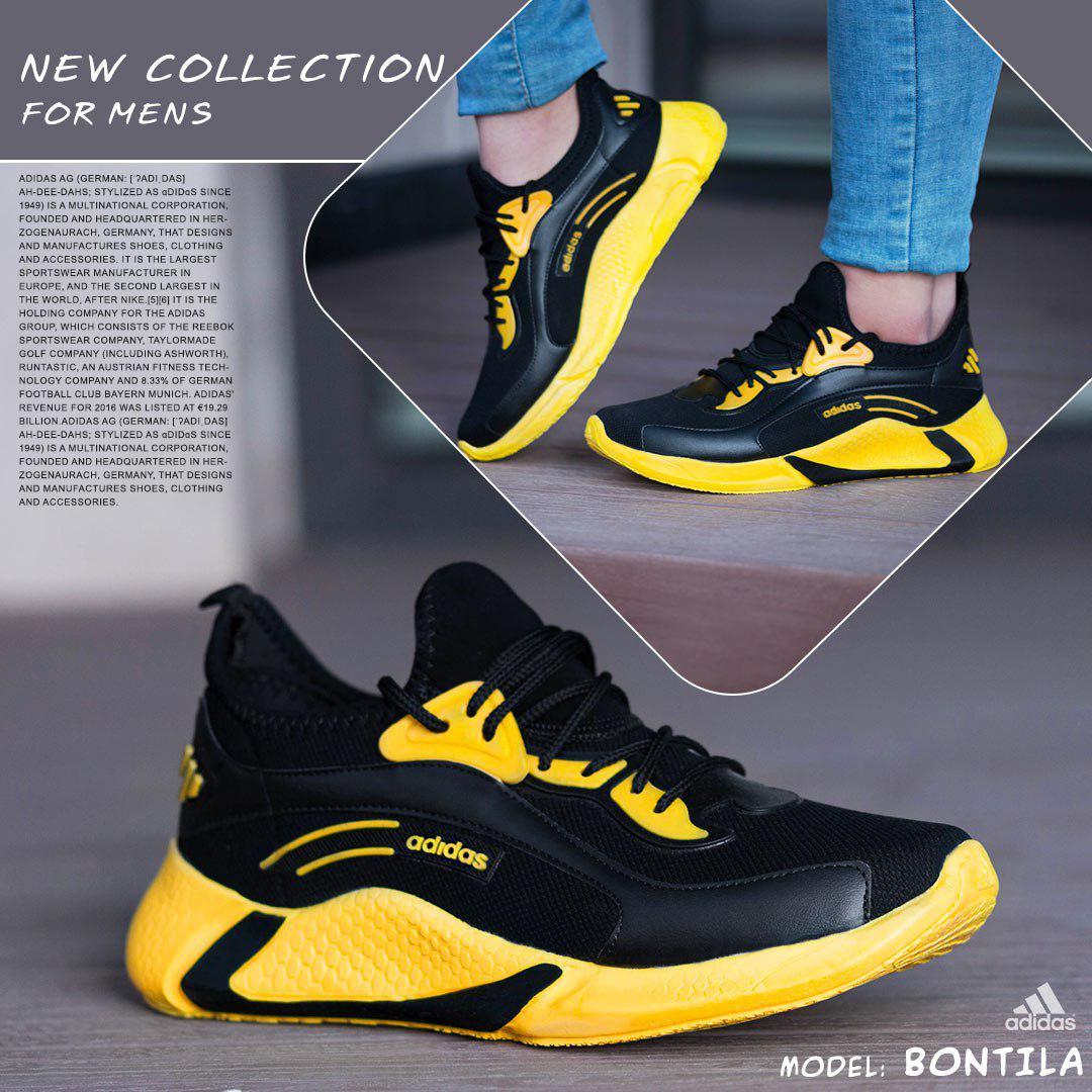 کفش مردانه  Adidas مدل Bontila( زرد )