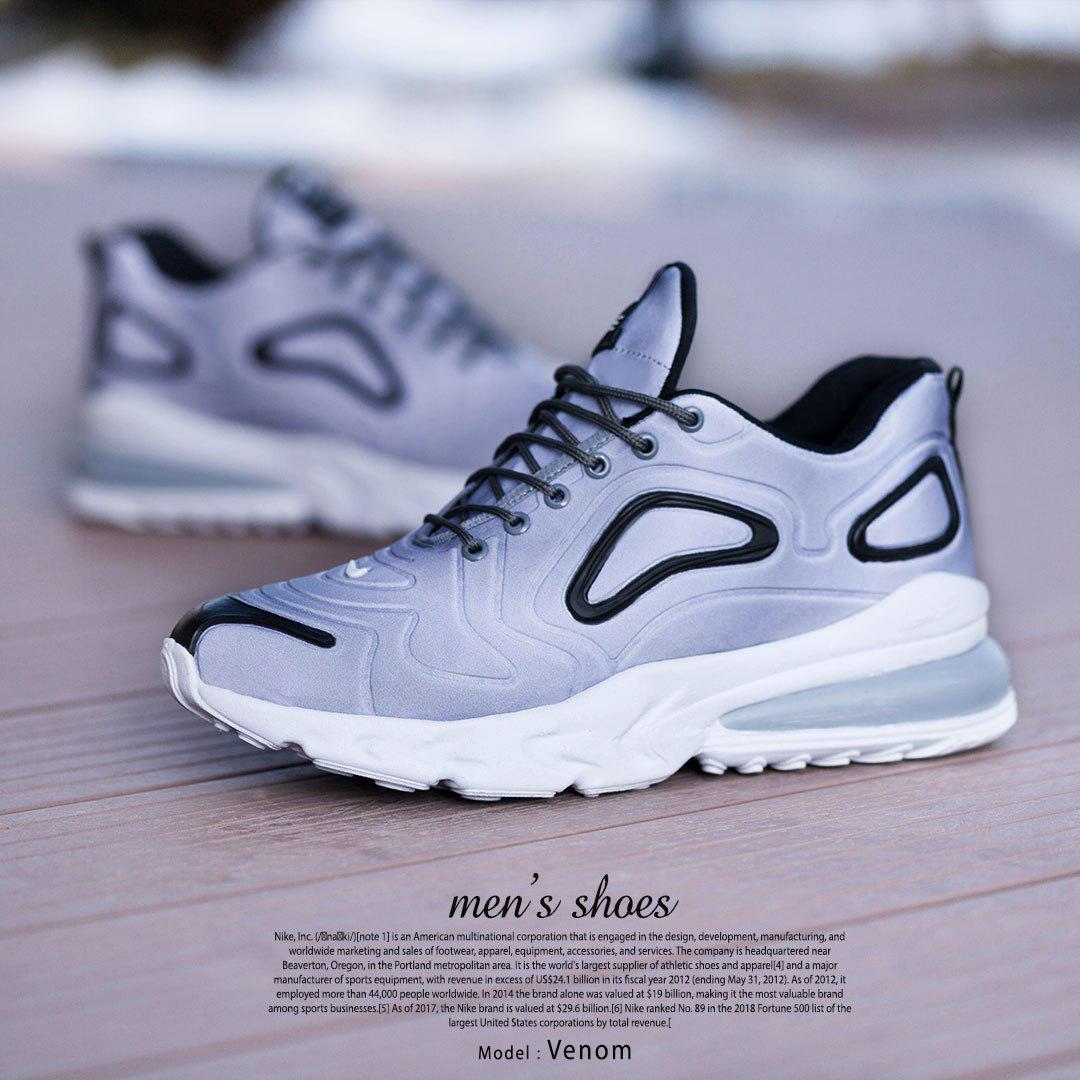 کفش مردانه Nike مدل Venom (طوسی)