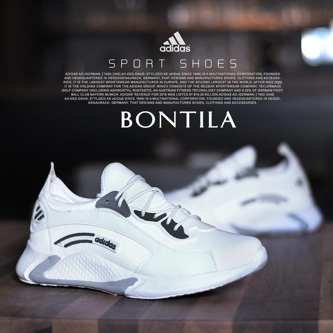 کفش مردانهAdidasمدلBontila( سفید)