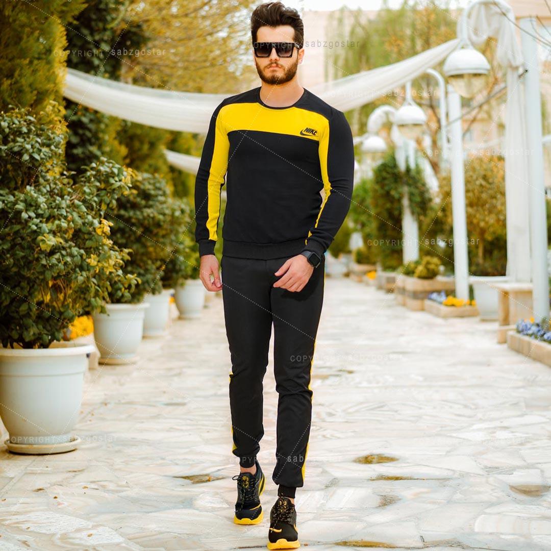 ست بلوز و شلوار مردانه Nike مدل Med