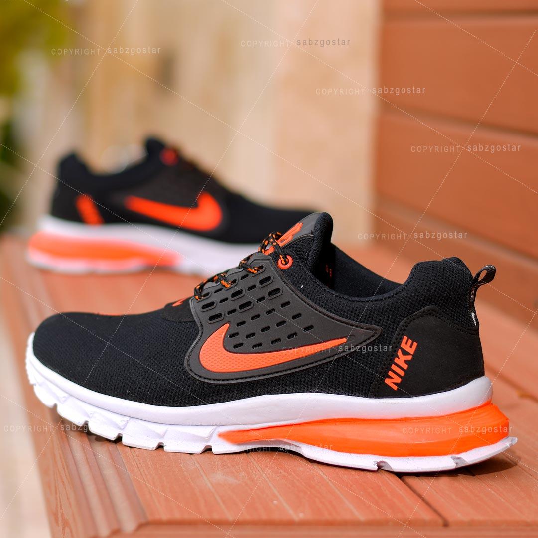 کفش مردانه Nike مدل Lixo(مشکی نارنجی)