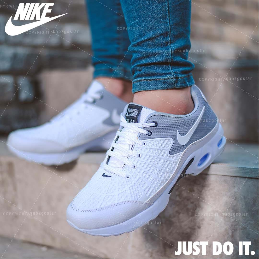 کفش مردانه Nike مدل Mertenz (سفیدطوسی)