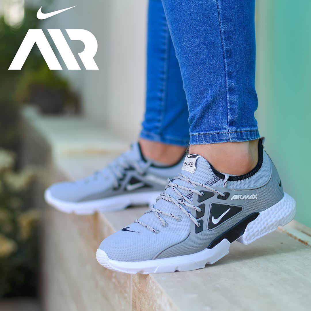 کفش مردانه Nike مدل Tibo (طوسی)