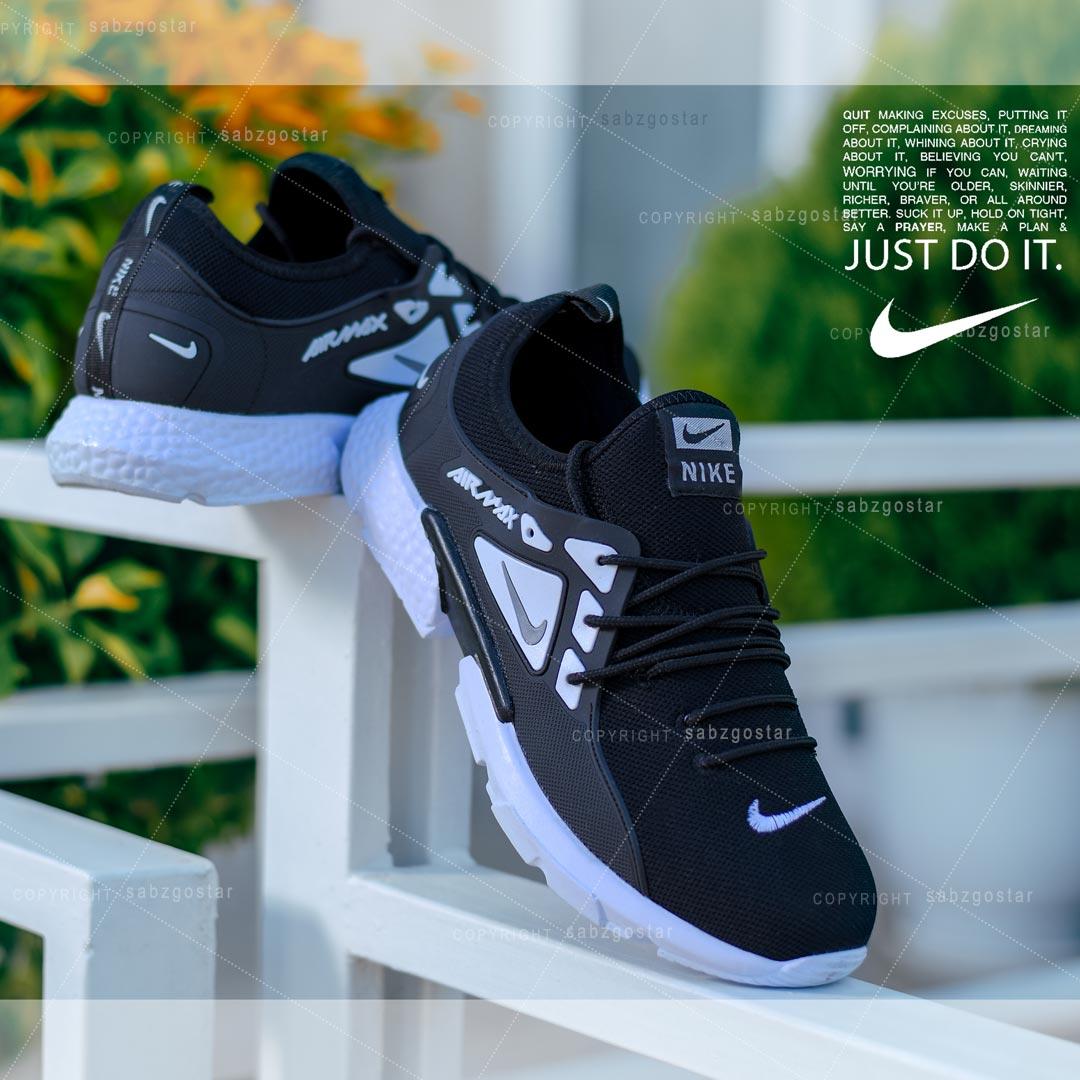 کفش مردانه Nike مدل Tibo (مشکی)