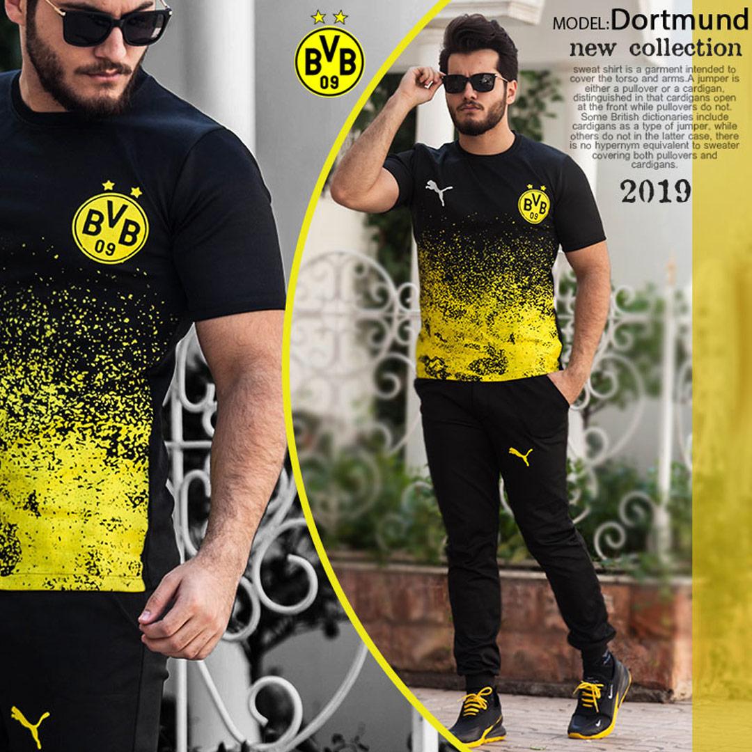 ست تیشرت و شلوار مدل Dortmund