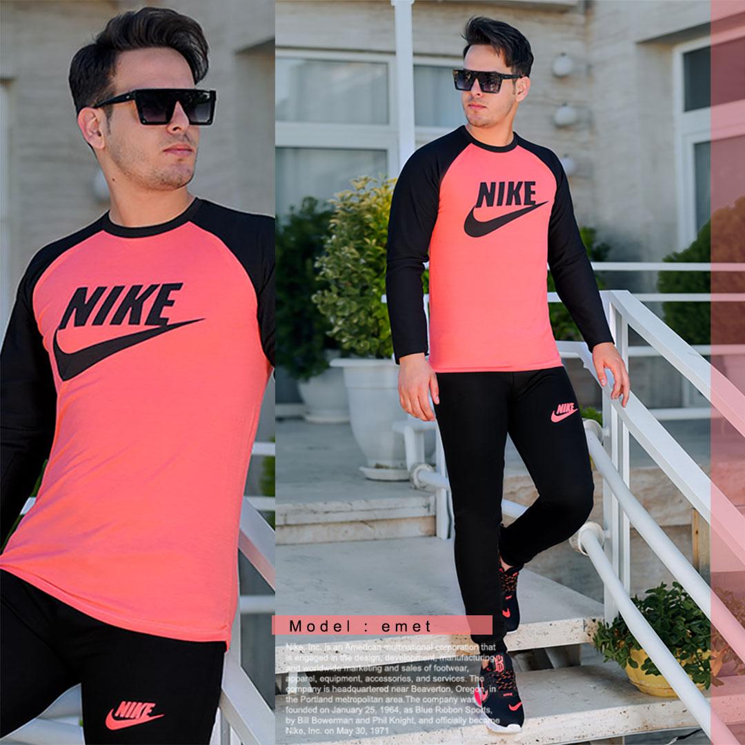 ست بلوز و شلوار مردانه Nike مدل Emet