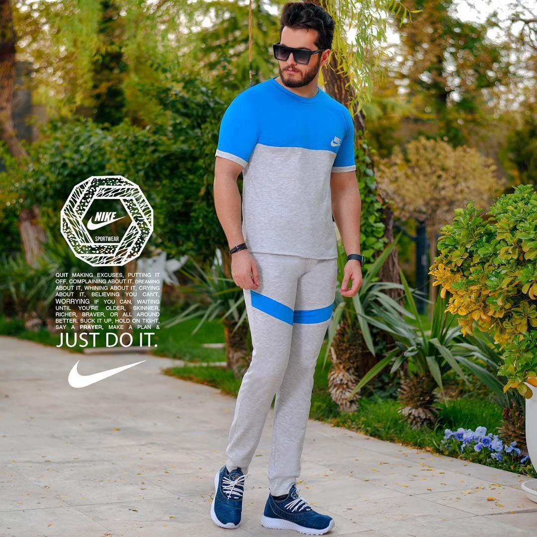 ست تیشرت وشلوار مردانه Nike مدل Jagvar