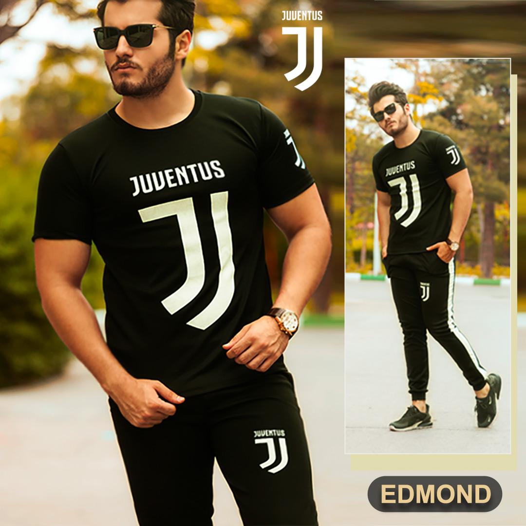 ست تیشرت و شلوارJuventus مدل Edmond(مشکی)