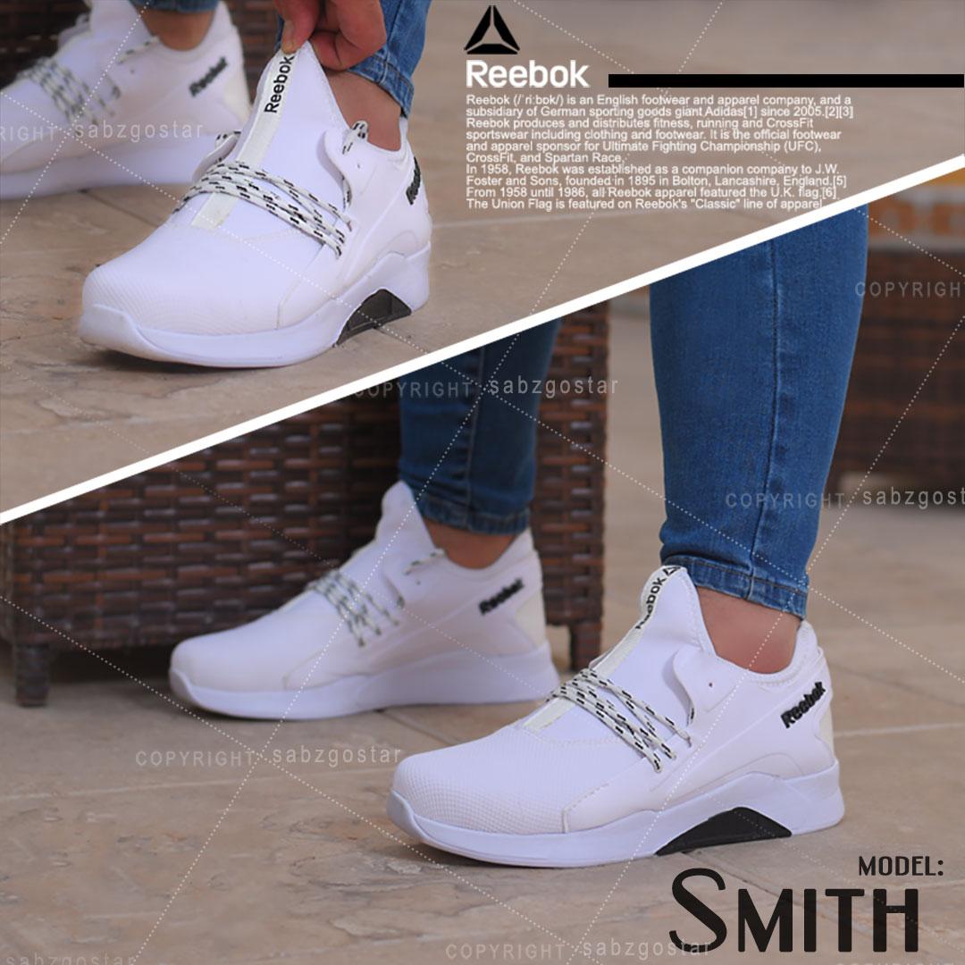 کفش مردانه Reebok مدل Smith ( سفید)