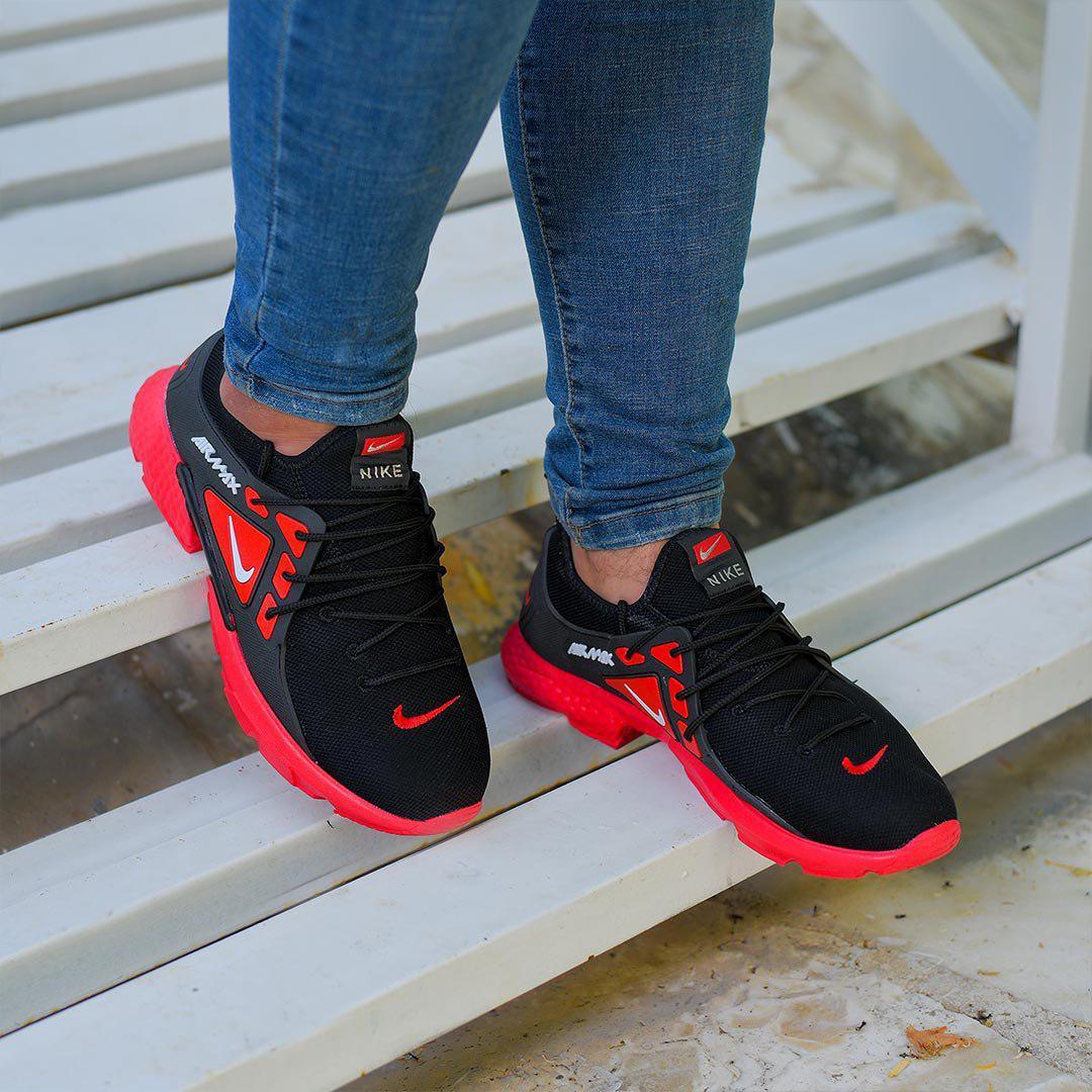 کفش مردانه Nike مدل Tibo (قرمز)