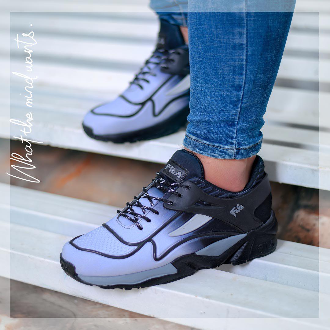 کفش مردانه Fila مدل Grey plus