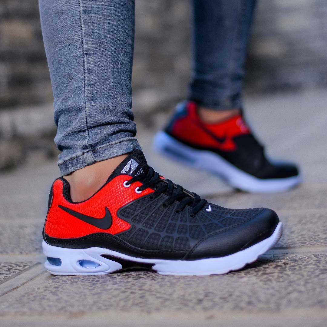 کفش مردانه Nike مدل Mertenz (مشکی قرمز)