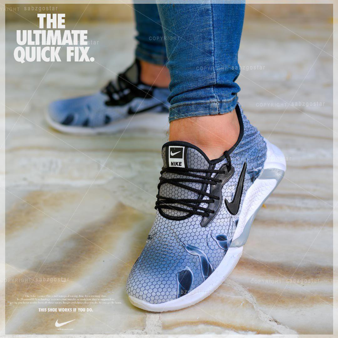 کفش مردانه Nike مدل Kento (طوسی)