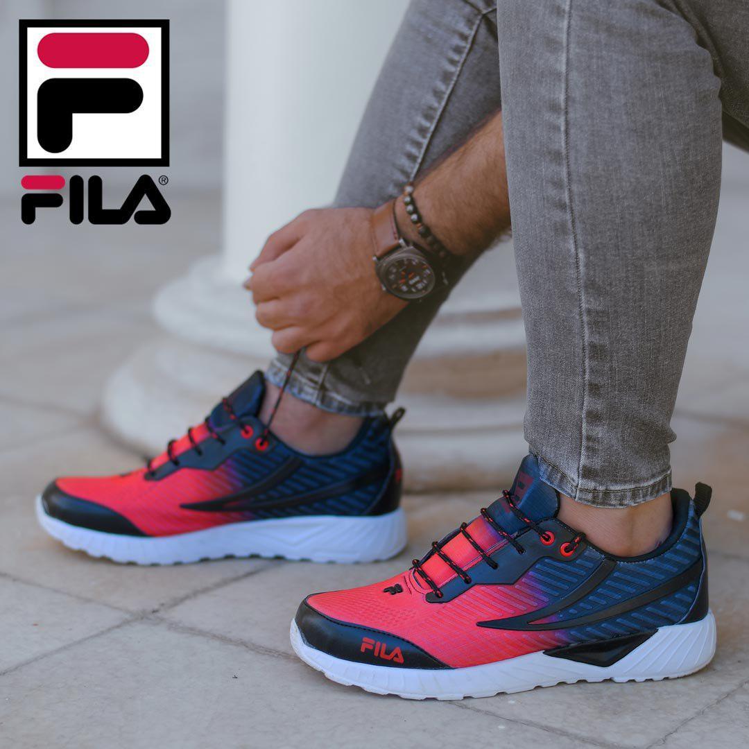 کفش مردانه Fila مدل Peeko (قرمز)